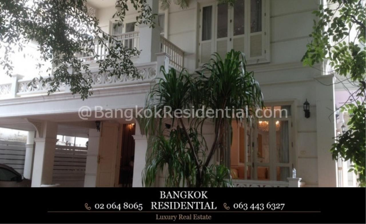 Bangkok Residential Agency's 4 Bed Single House For Rent in Phrom Phong BR7853SH 2