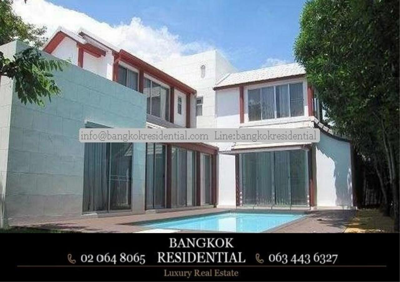 Bangkok Residential Agency's 4 Bed Single House in Compound For Rent in Phetchaburi BR7935SH 1