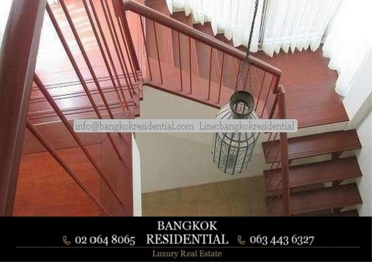 Bangkok Residential Agency's 4 Bed Single House in Compound For Rent in Phetchaburi BR7935SH 4