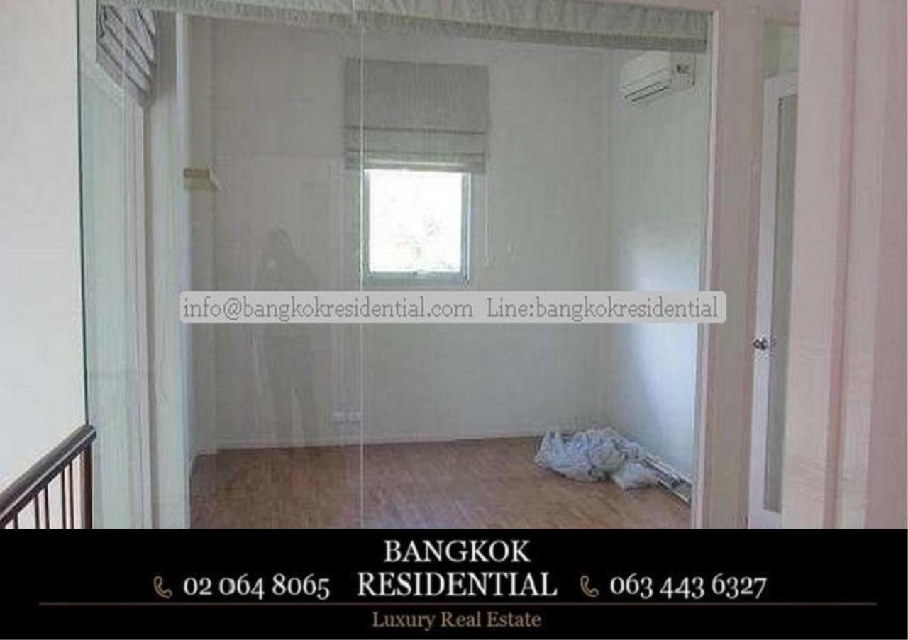 Bangkok Residential Agency's 4 Bed Single House in Compound For Rent in Phetchaburi BR7935SH 5