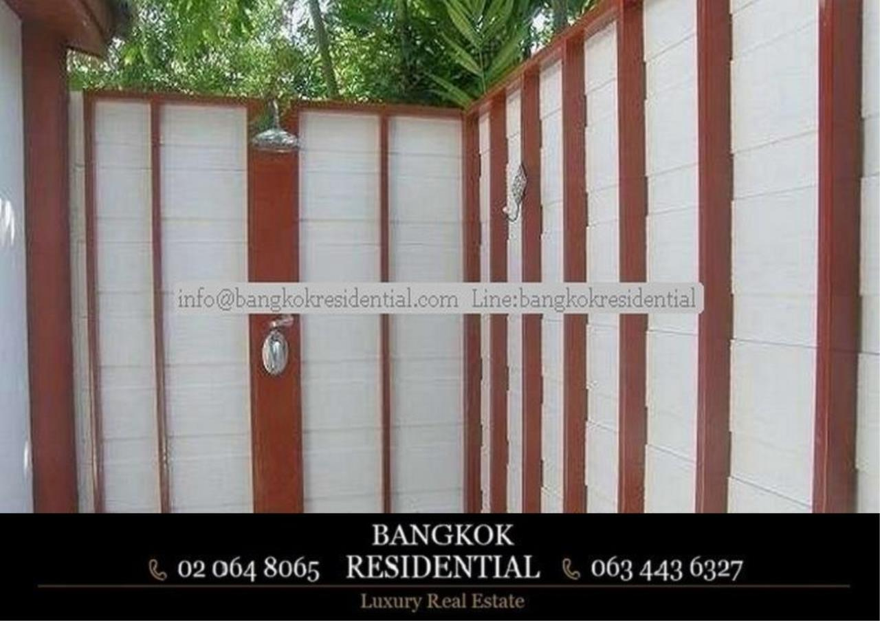 Bangkok Residential Agency's 4 Bed Single House in Compound For Rent in Phetchaburi BR7935SH 8