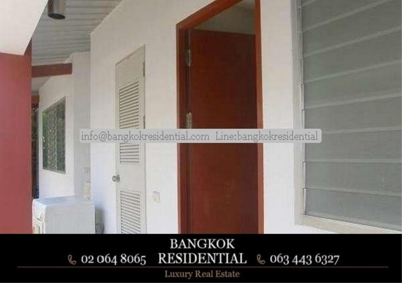 Bangkok Residential Agency's 4 Bed Single House in Compound For Rent in Phetchaburi BR7935SH 10