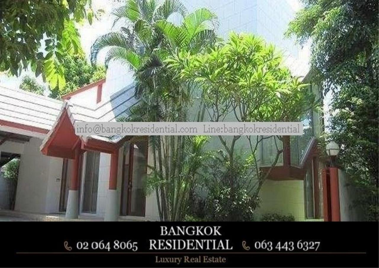 Bangkok Residential Agency's 4 Bed Single House in Compound For Rent in Phetchaburi BR7935SH 12