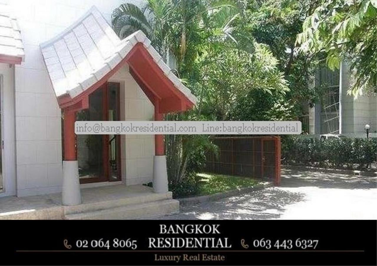 Bangkok Residential Agency's 4 Bed Single House in Compound For Rent in Phetchaburi BR7935SH 13