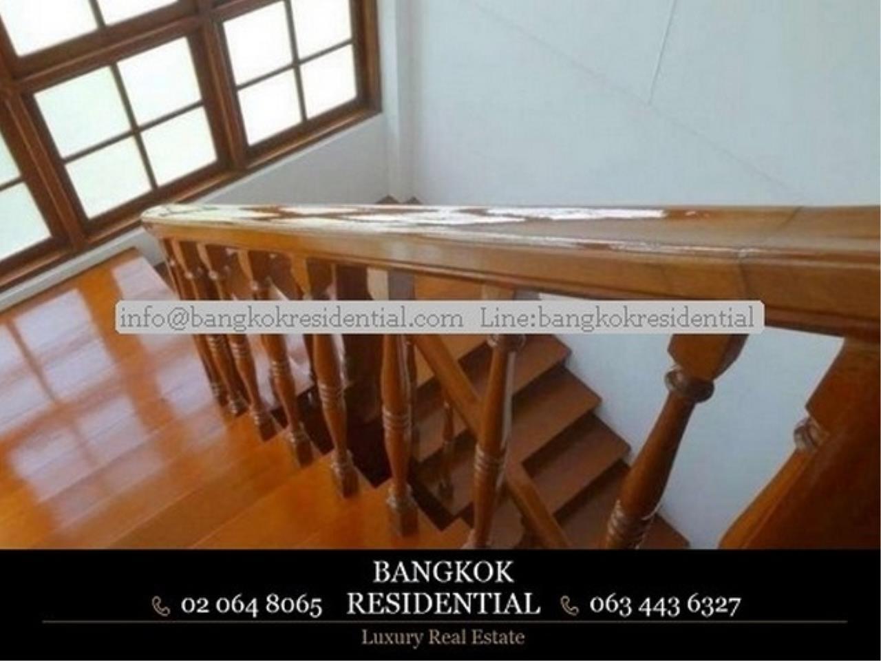 Bangkok Residential Agency's 4BR Single House For Rent (BR8060SH) 1