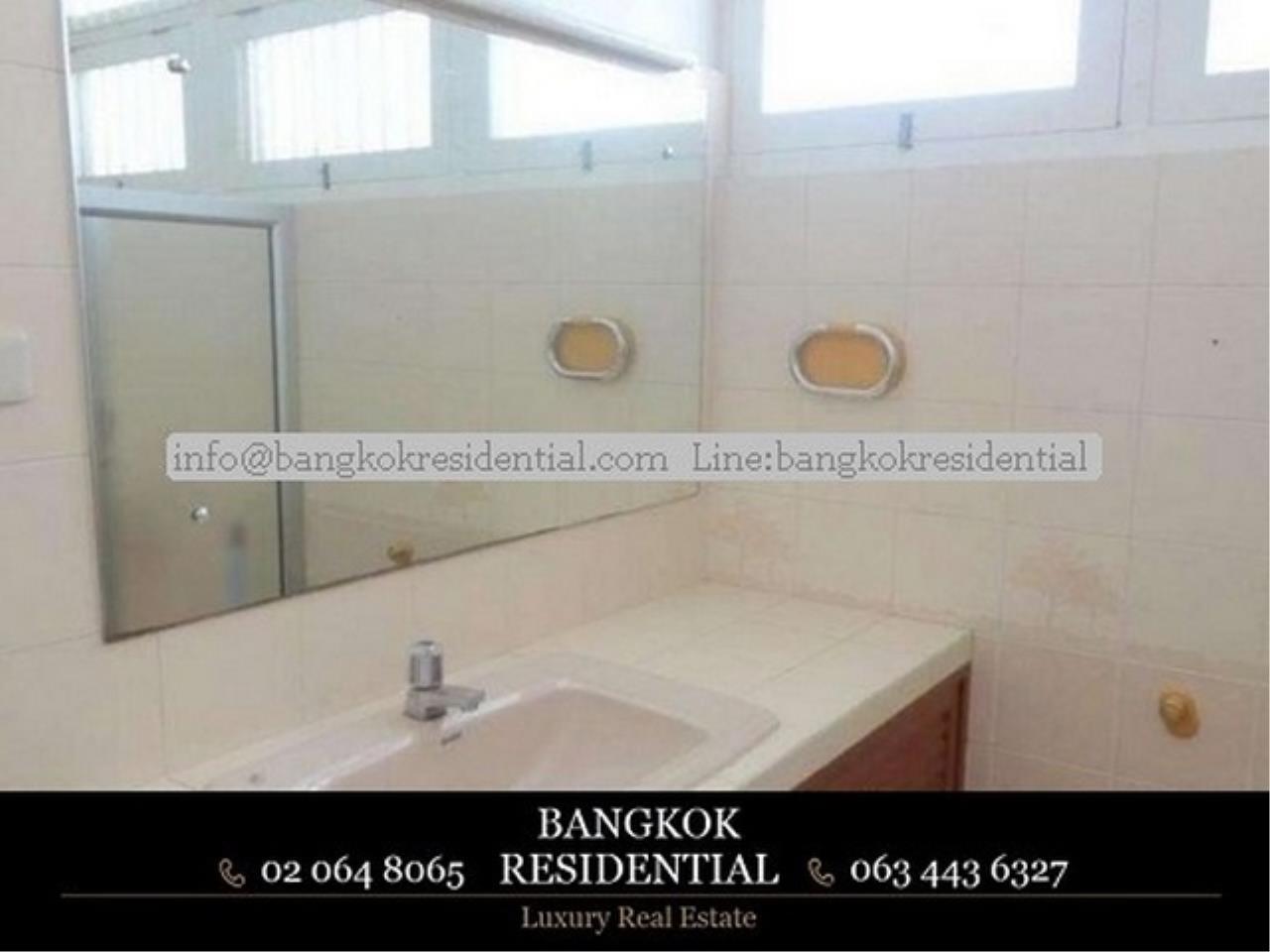 Bangkok Residential Agency's 4BR Single House For Rent (BR8060SH) 9