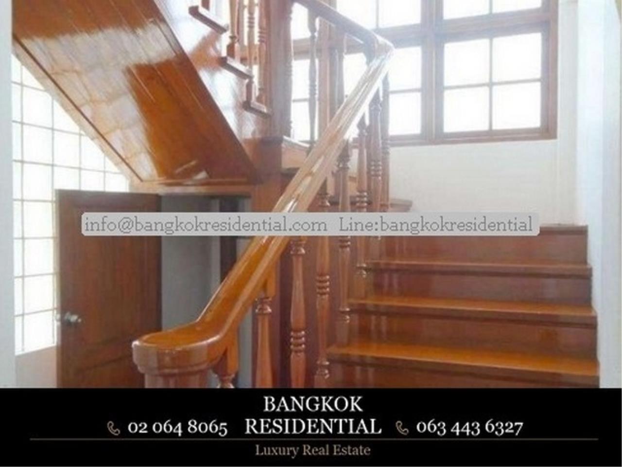 Bangkok Residential Agency's 4BR Single House For Rent (BR8060SH) 10