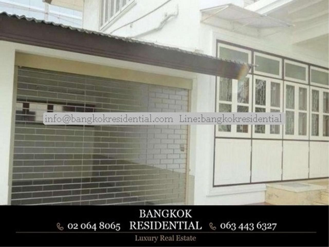 Bangkok Residential Agency's 4BR Single House For Rent (BR8060SH) 12