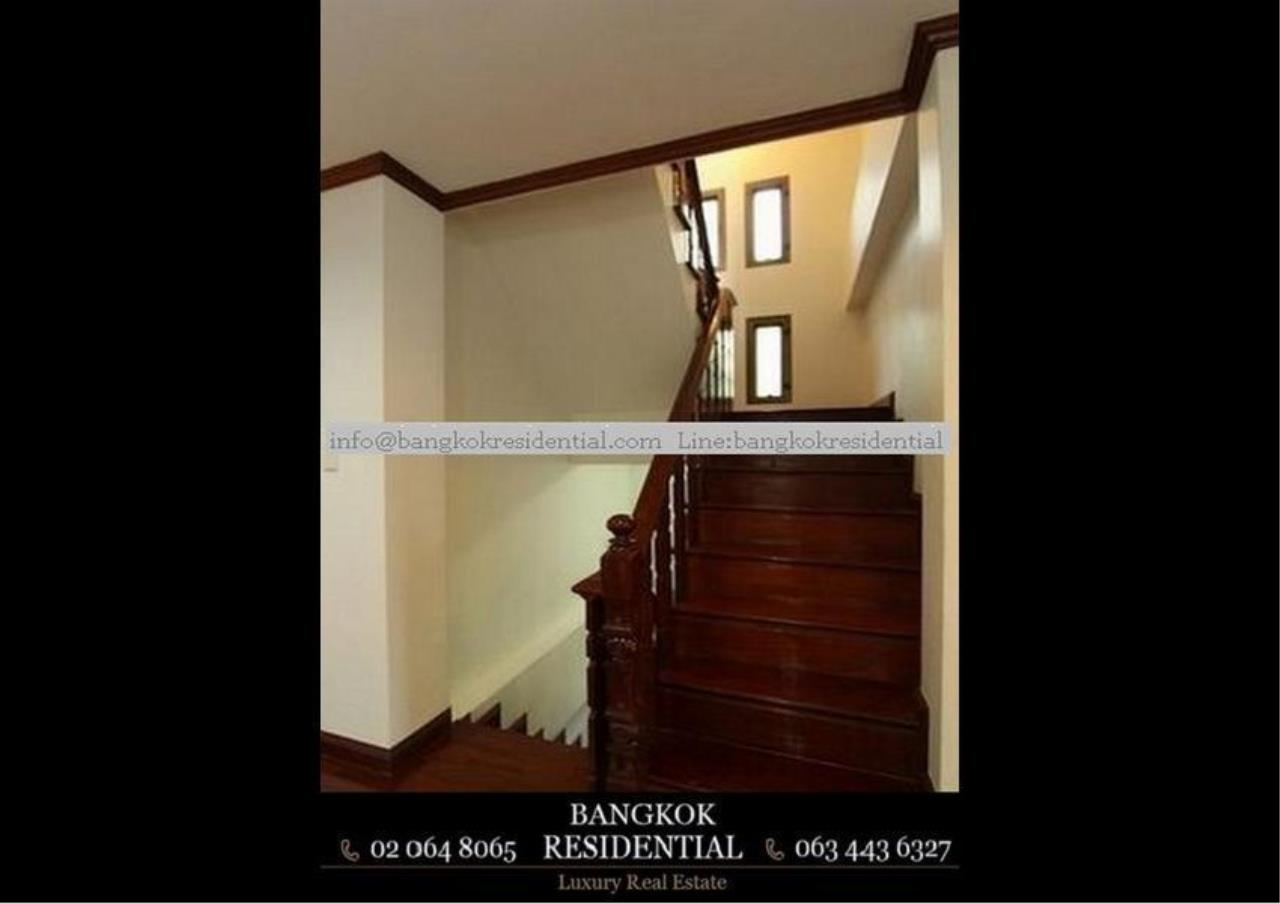 Bangkok Residential Agency's 5 Bed Single House For Rent in Nana BR8093SH 14