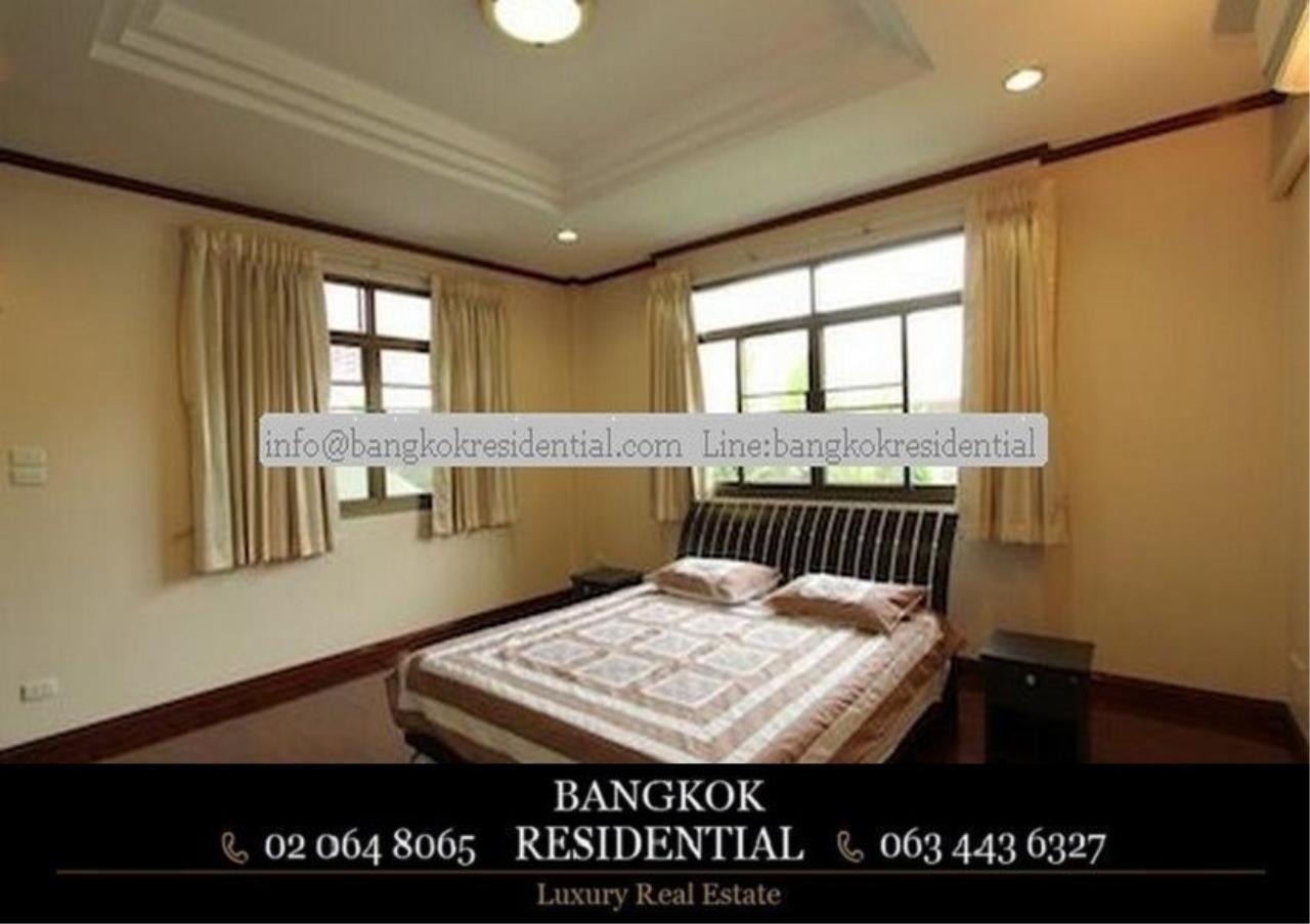 Bangkok Residential Agency's 5 Bed Single House For Rent in Nana BR8093SH 16
