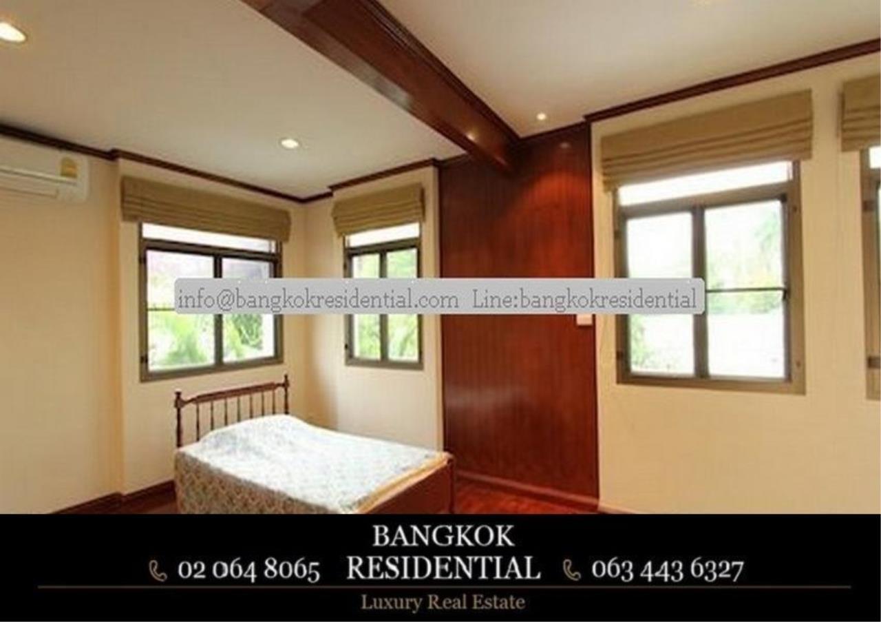Bangkok Residential Agency's 5 Bed Single House For Rent in Nana BR8093SH 18