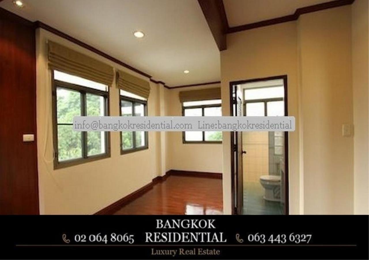 Bangkok Residential Agency's 5 Bed Single House For Rent in Nana BR8093SH 19