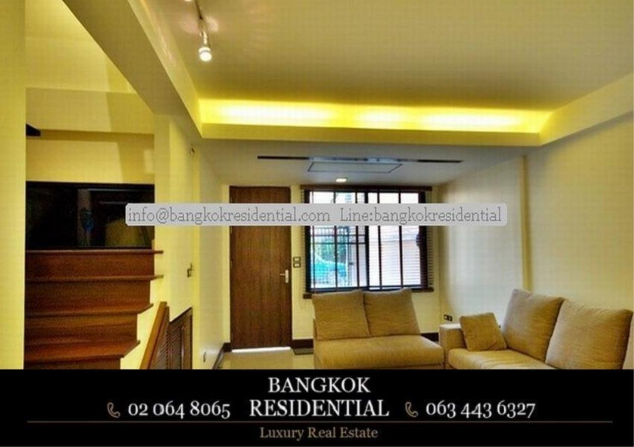 Bangkok Residential Agency's 4 Bed Townhouse For Rent in Thonglor BR8549TH 3