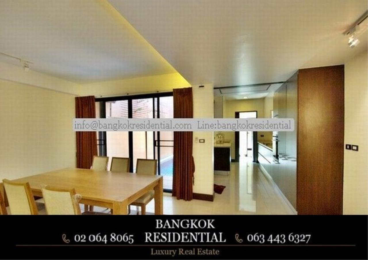 Bangkok Residential Agency's 4 Bed Townhouse For Rent in Thonglor BR8549TH 5