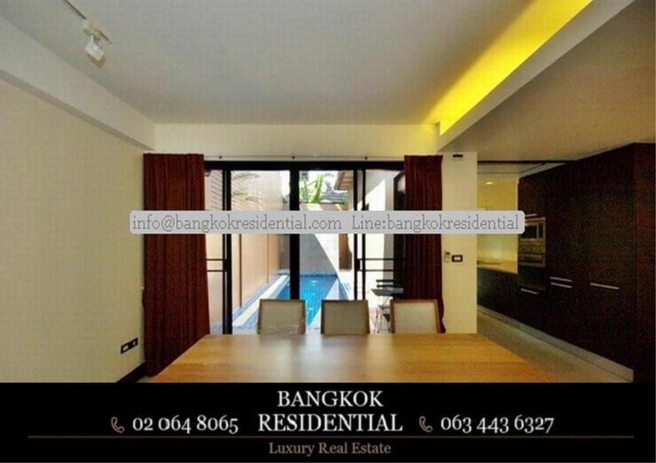 Bangkok Residential Agency's 4 Bed Townhouse For Rent in Thonglor BR8549TH 6