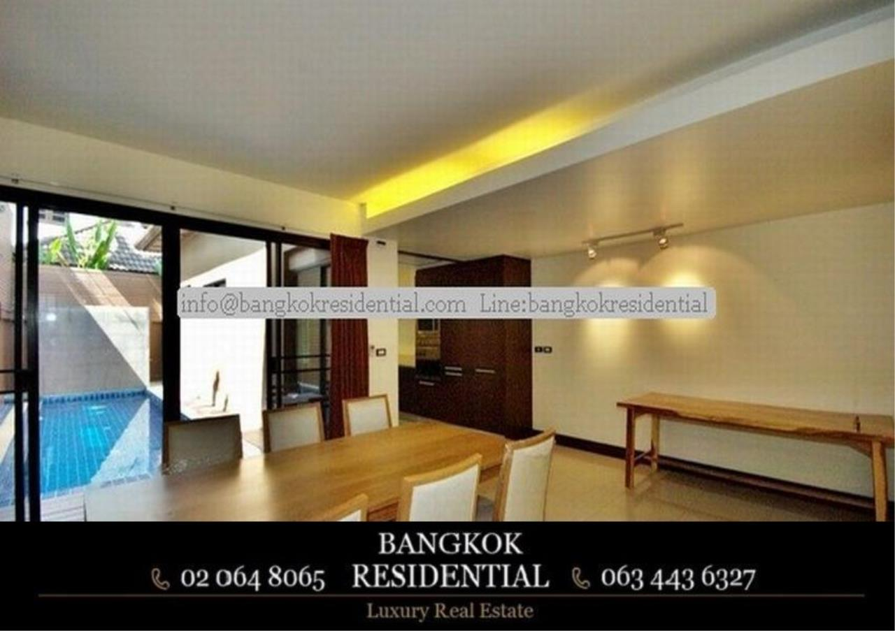 Bangkok Residential Agency's 4 Bed Townhouse For Rent in Thonglor BR8549TH 7
