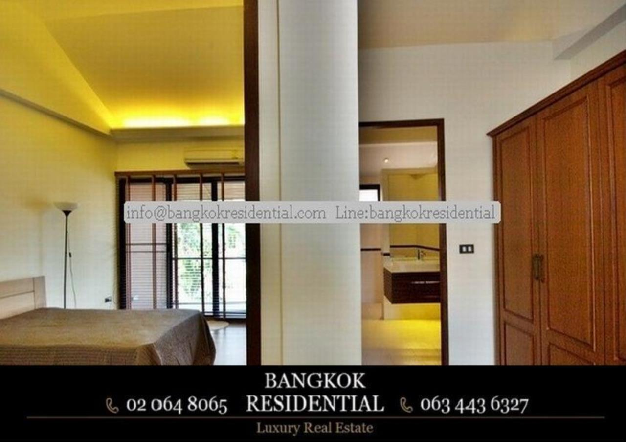 Bangkok Residential Agency's 4 Bed Townhouse For Rent in Thonglor BR8549TH 24