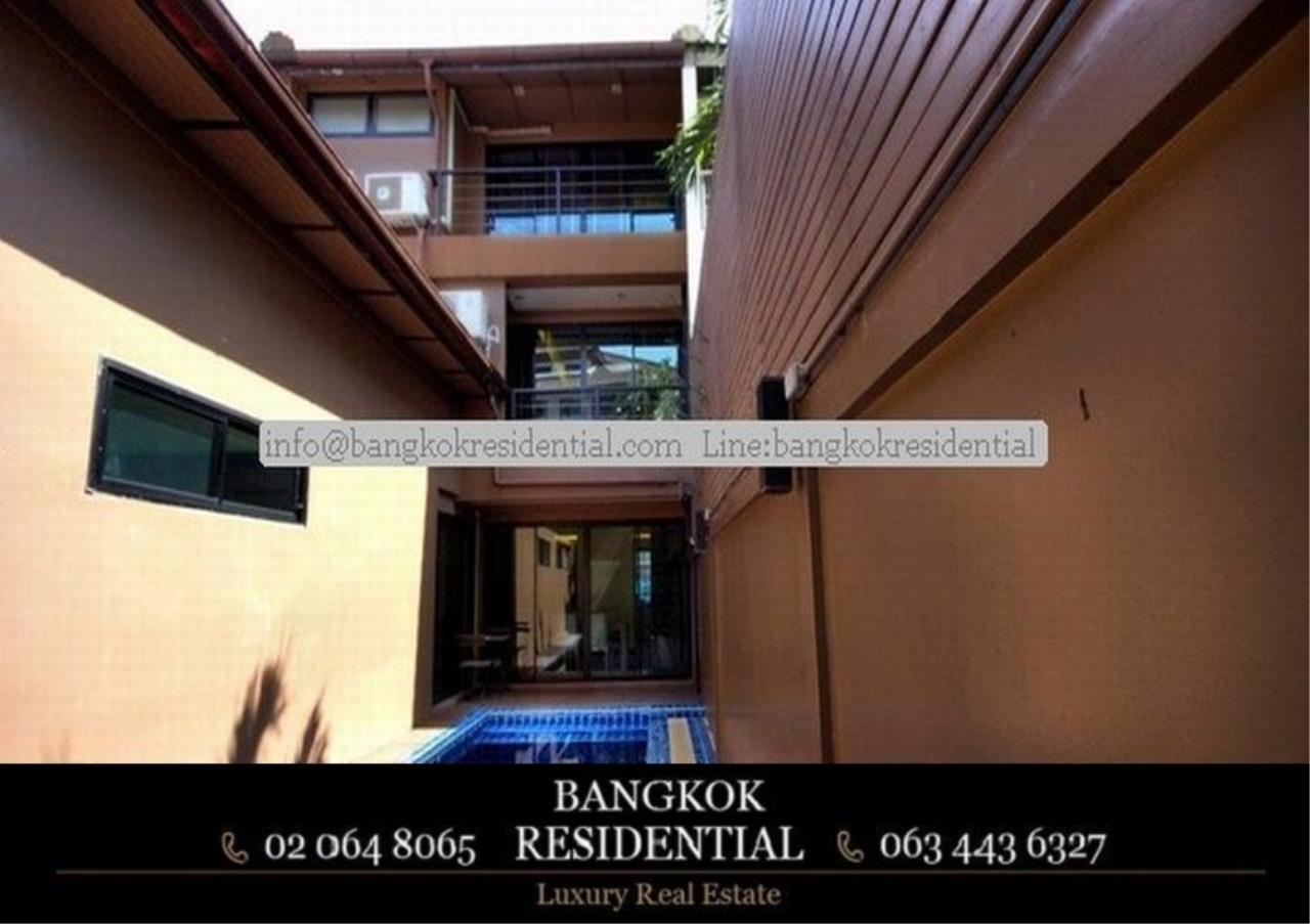 Bangkok Residential Agency's 4 Bed Townhouse For Rent in Thonglor BR8549TH 26