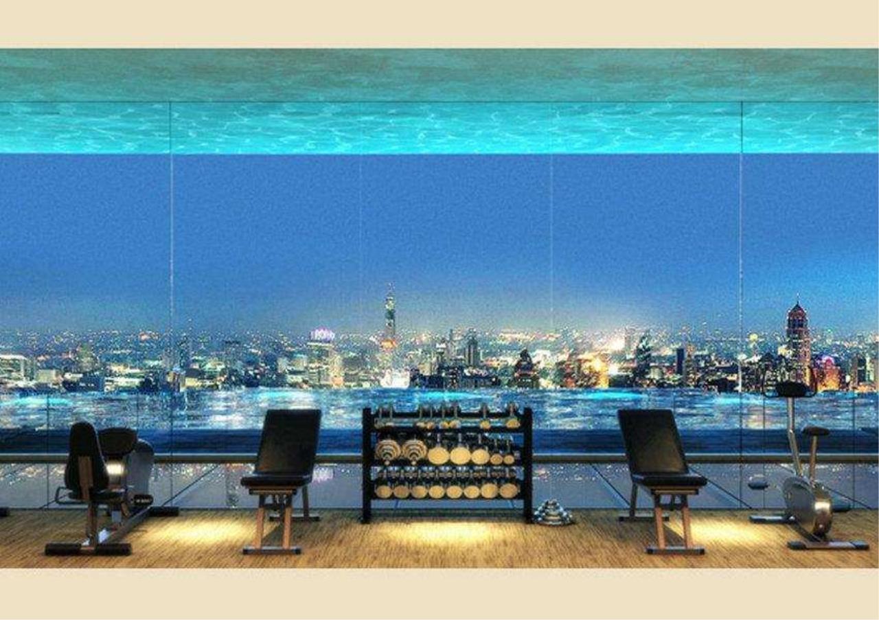 Bangkok Residential Agency's 2 Bed Condo For Rent in Silom BR9061CD 3