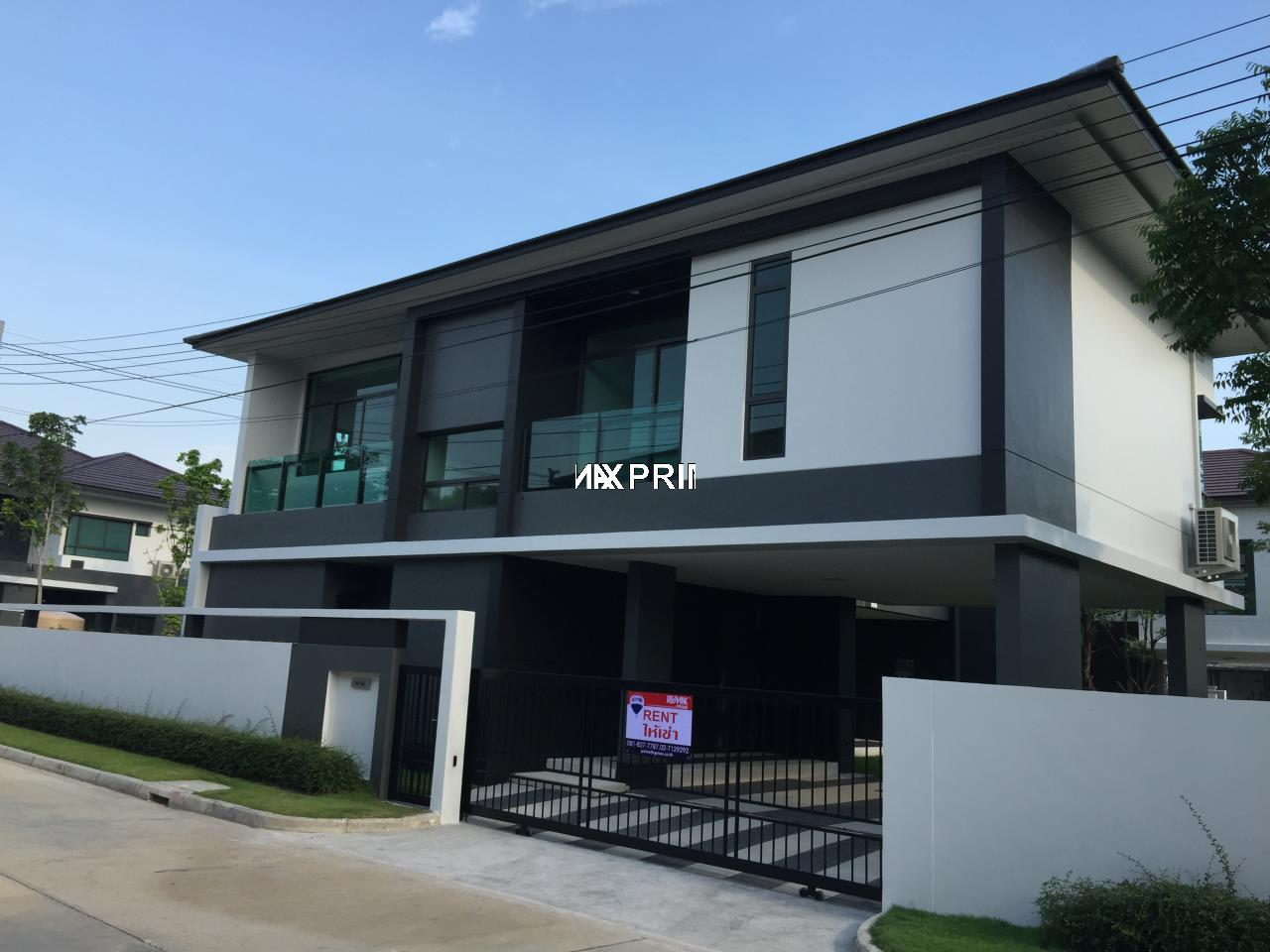 RE/MAX PRIME Agency's Single House for Rent Setthasiri Krungthep Kreetha 1