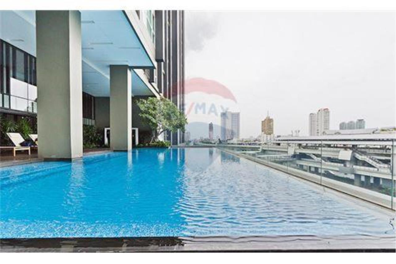 RE/MAX PRIME Agency's One Step To BTS Krung Thonburi, 1 Bed, For Rent 8