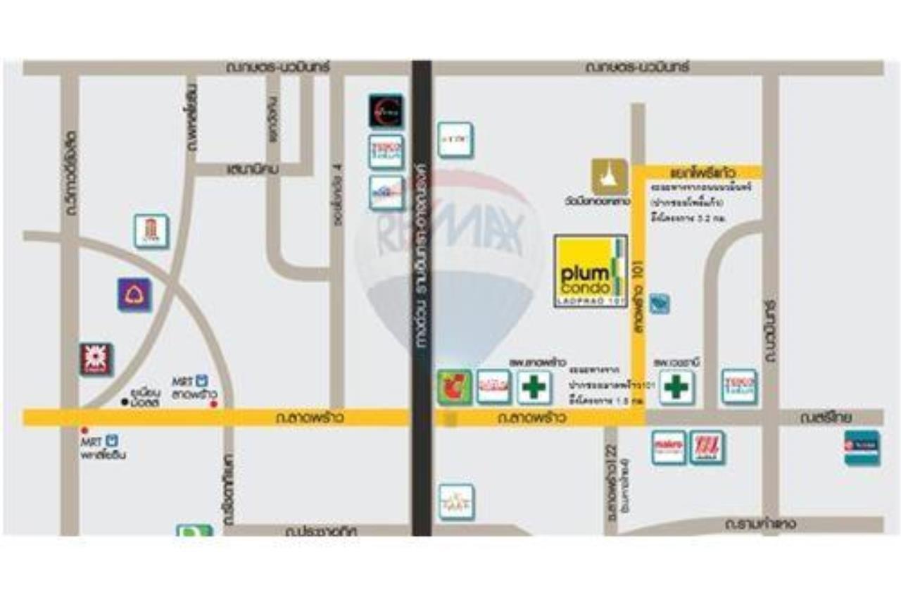 RE/MAX PRIME Agency's For sale Plum condo Ladprao101 3