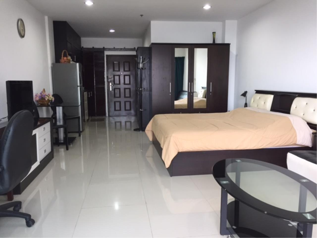 Agent - Chotika Fuchs Agency's Studio for Sale in View talay 7 - 48 Sqm floor 17th Full furnished Jomtien Side view 7