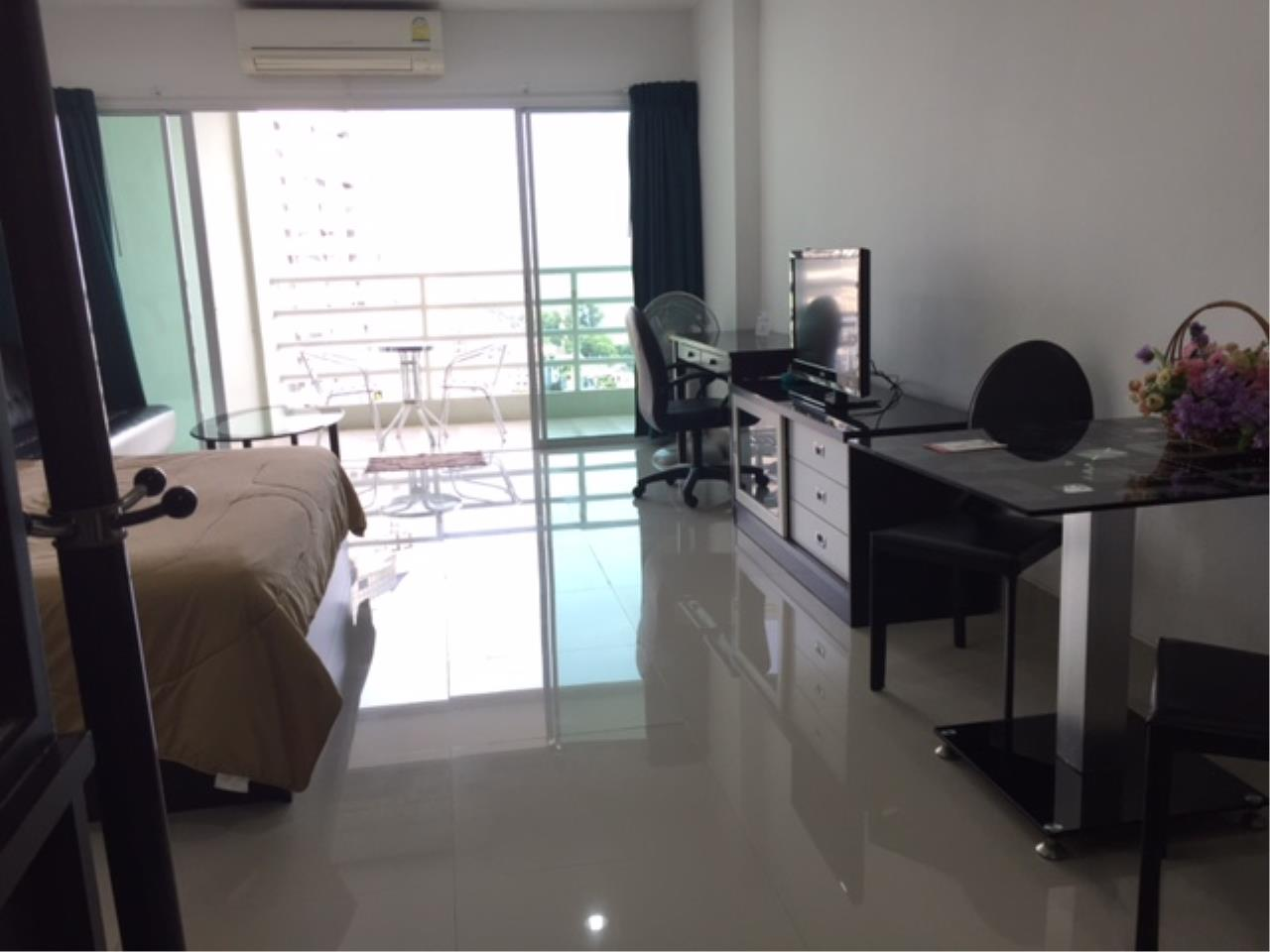 Agent - Chotika Fuchs Agency's Studio for Sale in View talay 7 - 48 Sqm floor 17th Full furnished Jomtien Side view 5