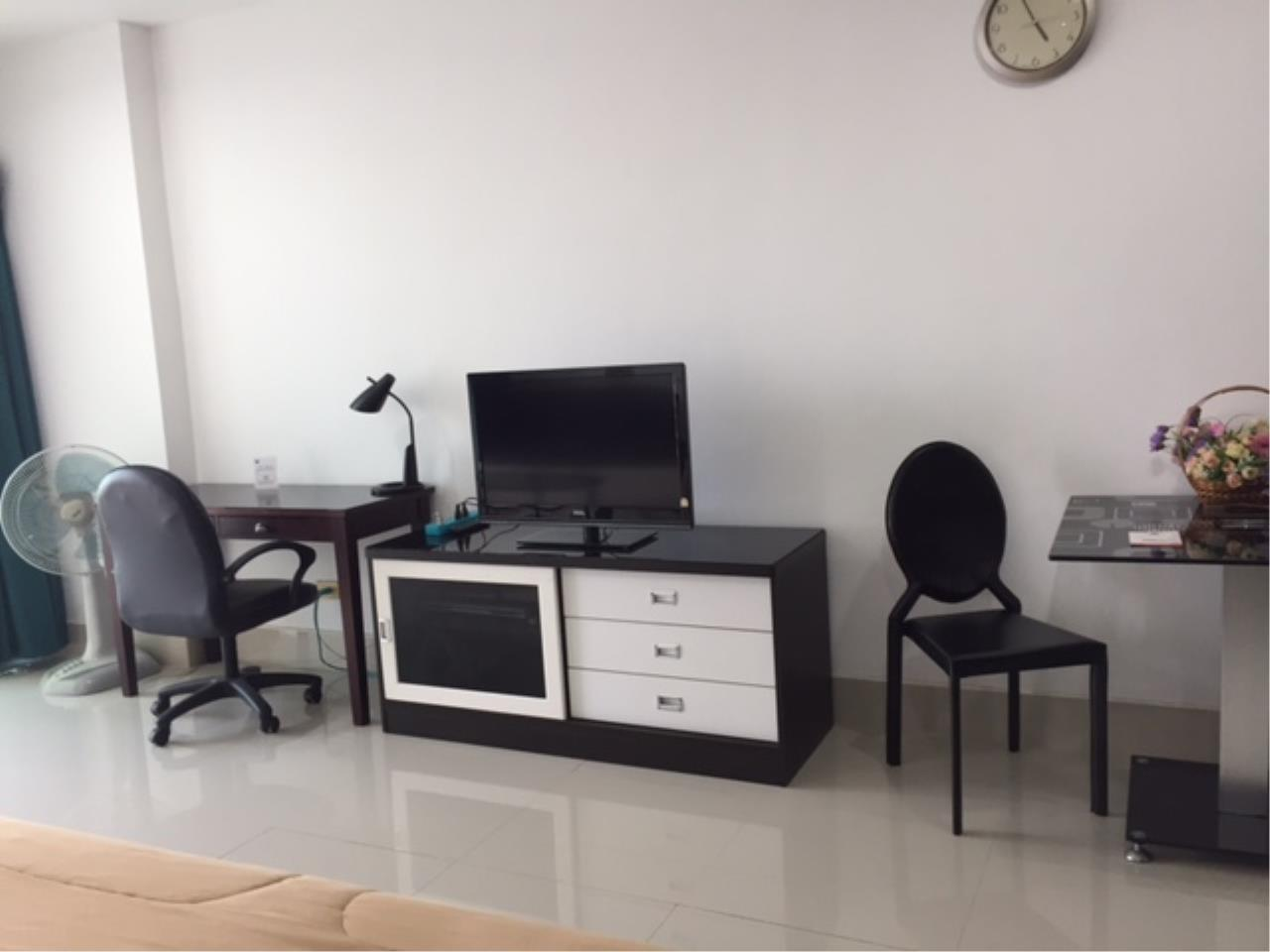 Agent - Chotika Fuchs Agency's Studio for Sale in View talay 7 - 48 Sqm floor 17th Full furnished Jomtien Side view 4