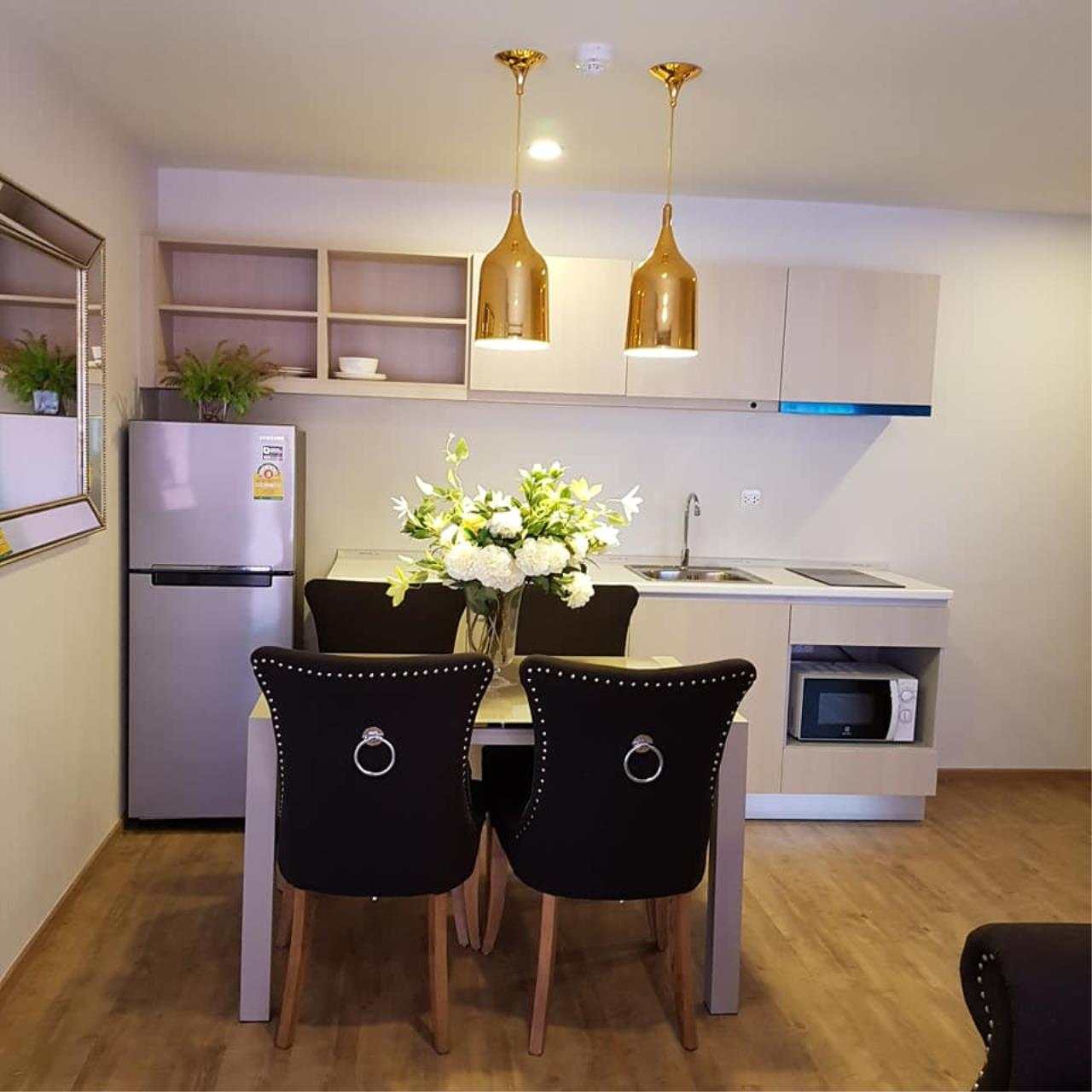 Agent - Prombood Agency's For rent or sale - Notting Hill Phahol - Kaset Room type 2 Bedrooms 2 Bathroom 2
