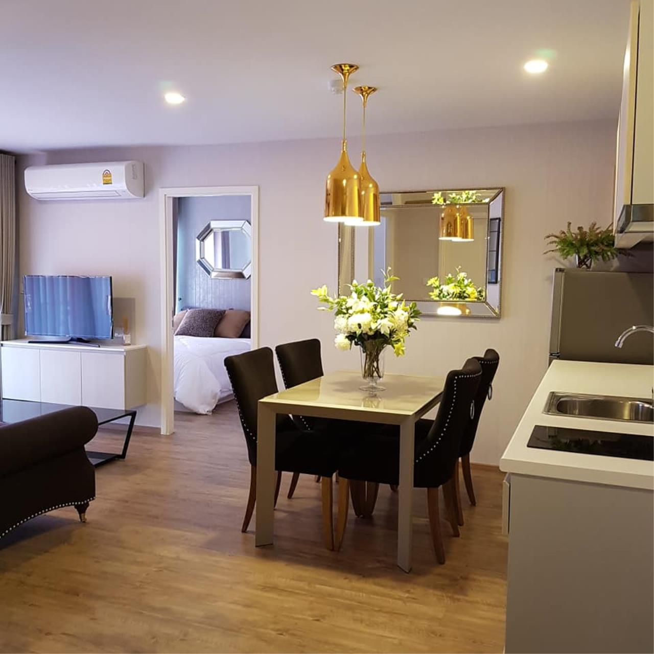 Agent - Prombood Agency's For rent or sale - Notting Hill Phahol - Kaset Room type 2 Bedrooms 2 Bathroom 1
