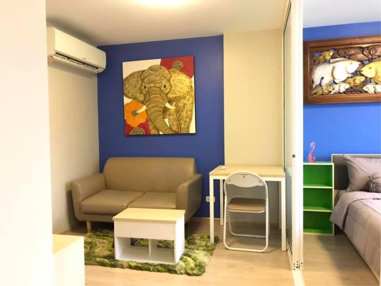 Agent - Prombood Agency's Sale - 1 Bedroom 27 sq.m. Elio Del Ray near Udomsuk and Punnawithi BTS Station 5