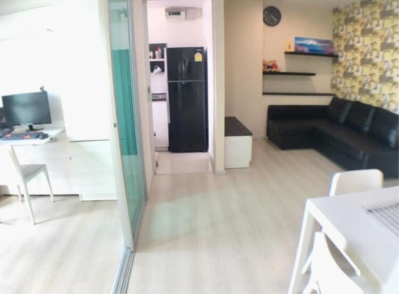 Agent - Prombood Agency's Sale - 2 Bedrooms 46 sq.m. Life Ratchadapisek near Huai Khwang and Sutthisan MRT Station 9