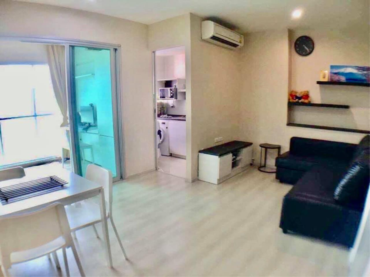Agent - Prombood Agency's Sale - 2 Bedrooms 46 sq.m. Life Ratchadapisek near Huai Khwang and Sutthisan MRT Station 10