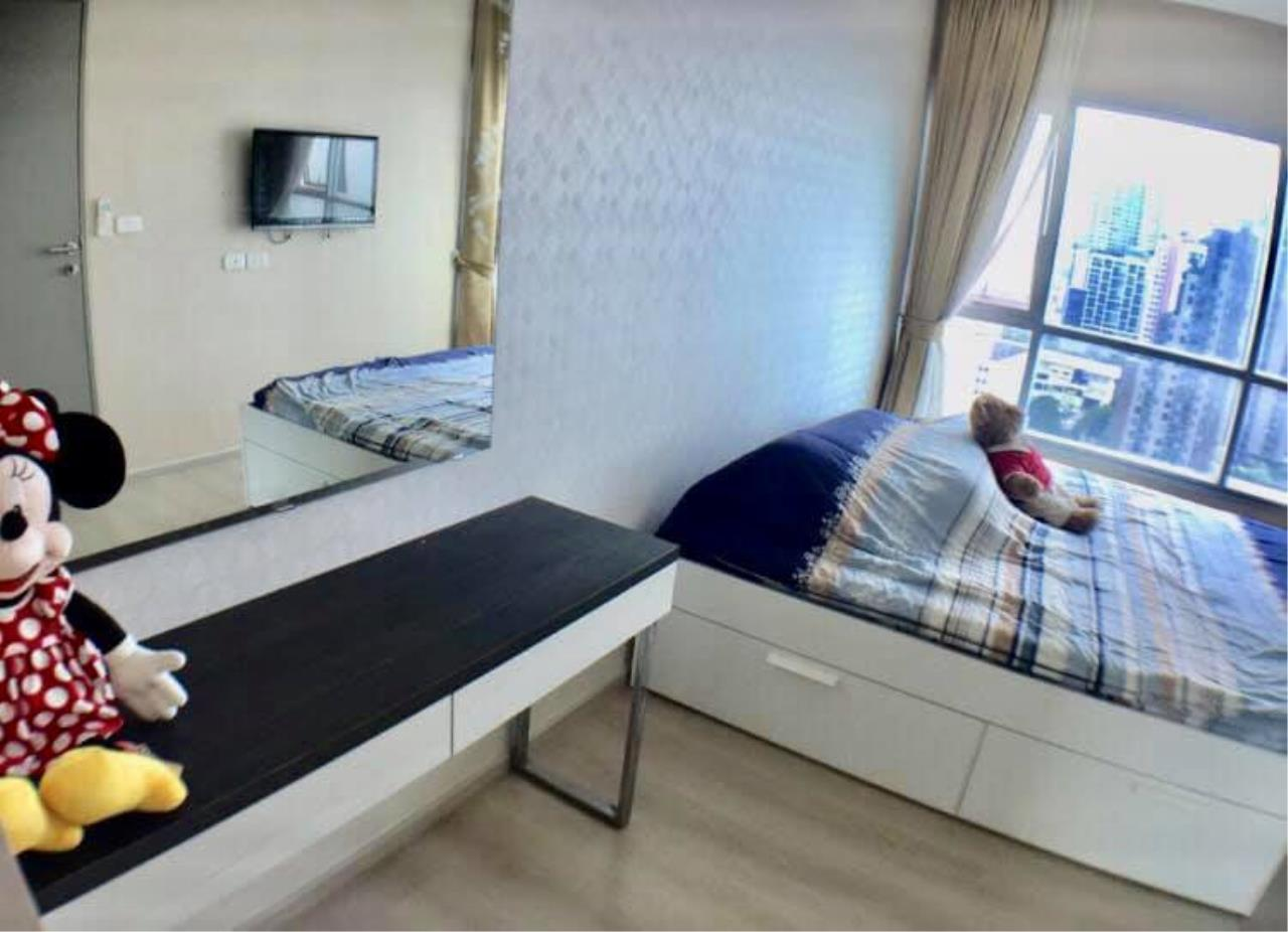 Agent - Prombood Agency's Sale - 2 Bedrooms 46 sq.m. Life Ratchadapisek near Huai Khwang and Sutthisan MRT Station 3