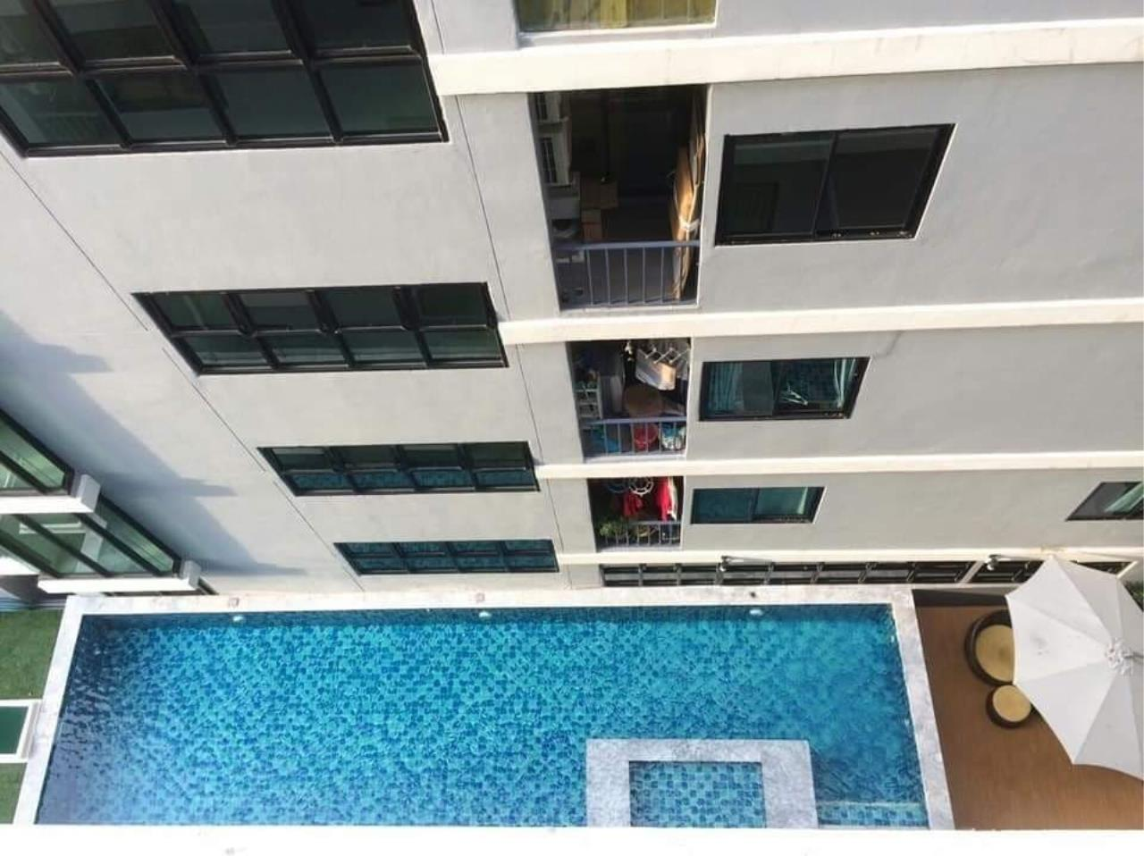 Agent - Prombood Agency's Sale - 1 Bedroom 28 sq.m. B Loft Sukhumvit 109 near Bearing BTS Station 25