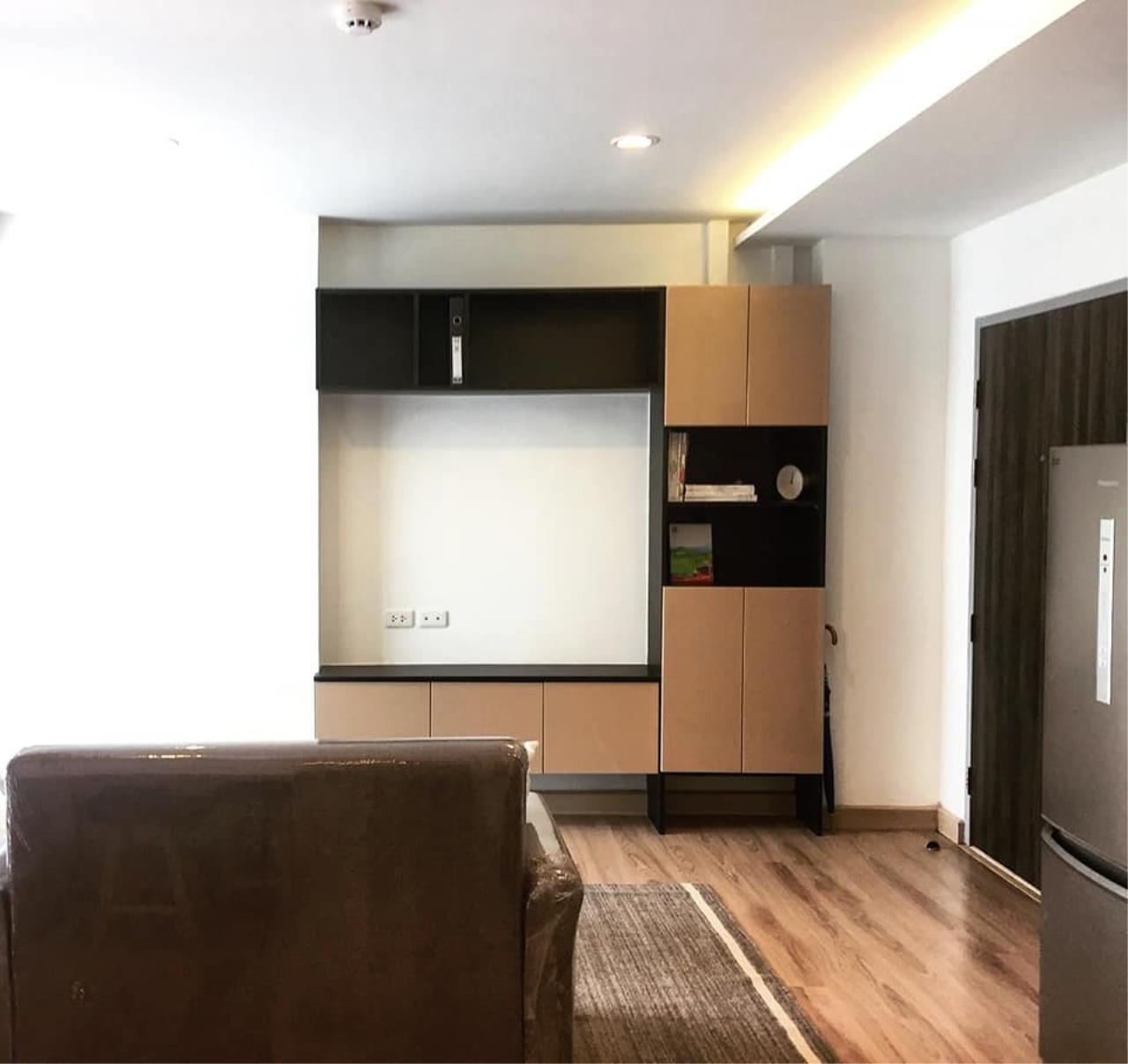 Agent - Prombood Agency's Sale - 1 Bedroom 36.5 sq.m. The Unique 19 near Ratchadapisek and Ladprao MRT Station 5