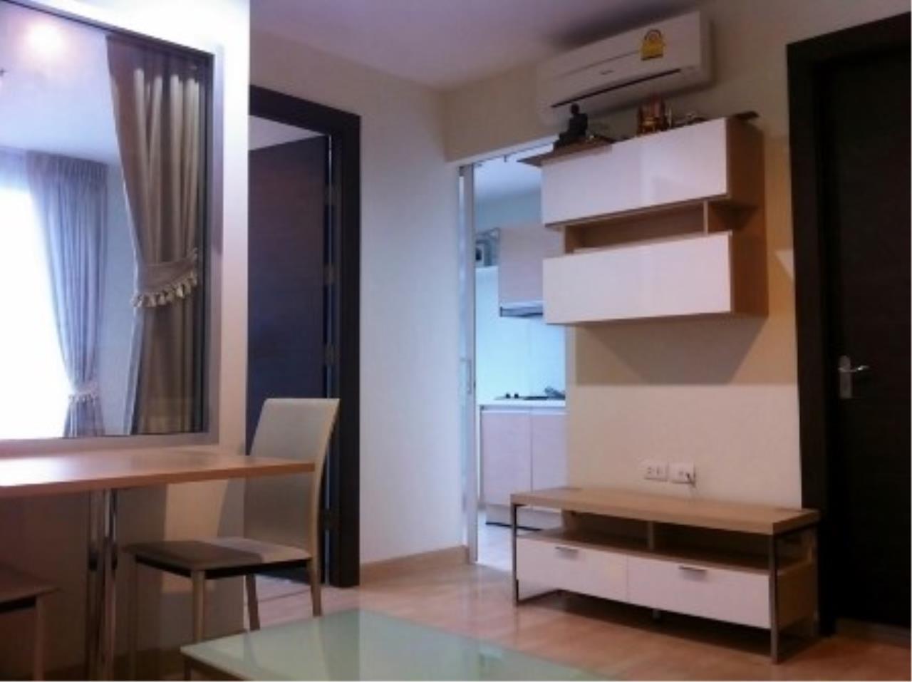 Agent - Prombood Agency's Sale - 1 Bedroom 36 sq.m. Rhythm Ratchada near Ratchadapisek MRT Station 3