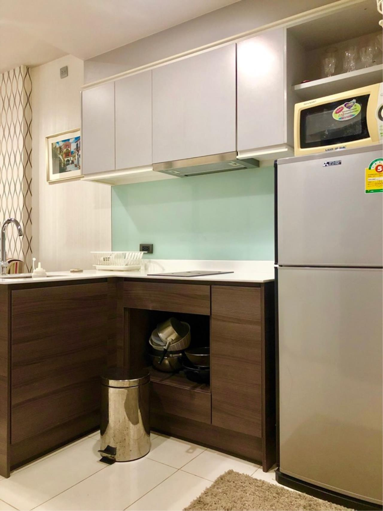 Agent - Prombood Agency's Sale with tenant - 1 Bedroom 35 sq.m. Ceil by Sansiri near Ekkamai BTS Station 17