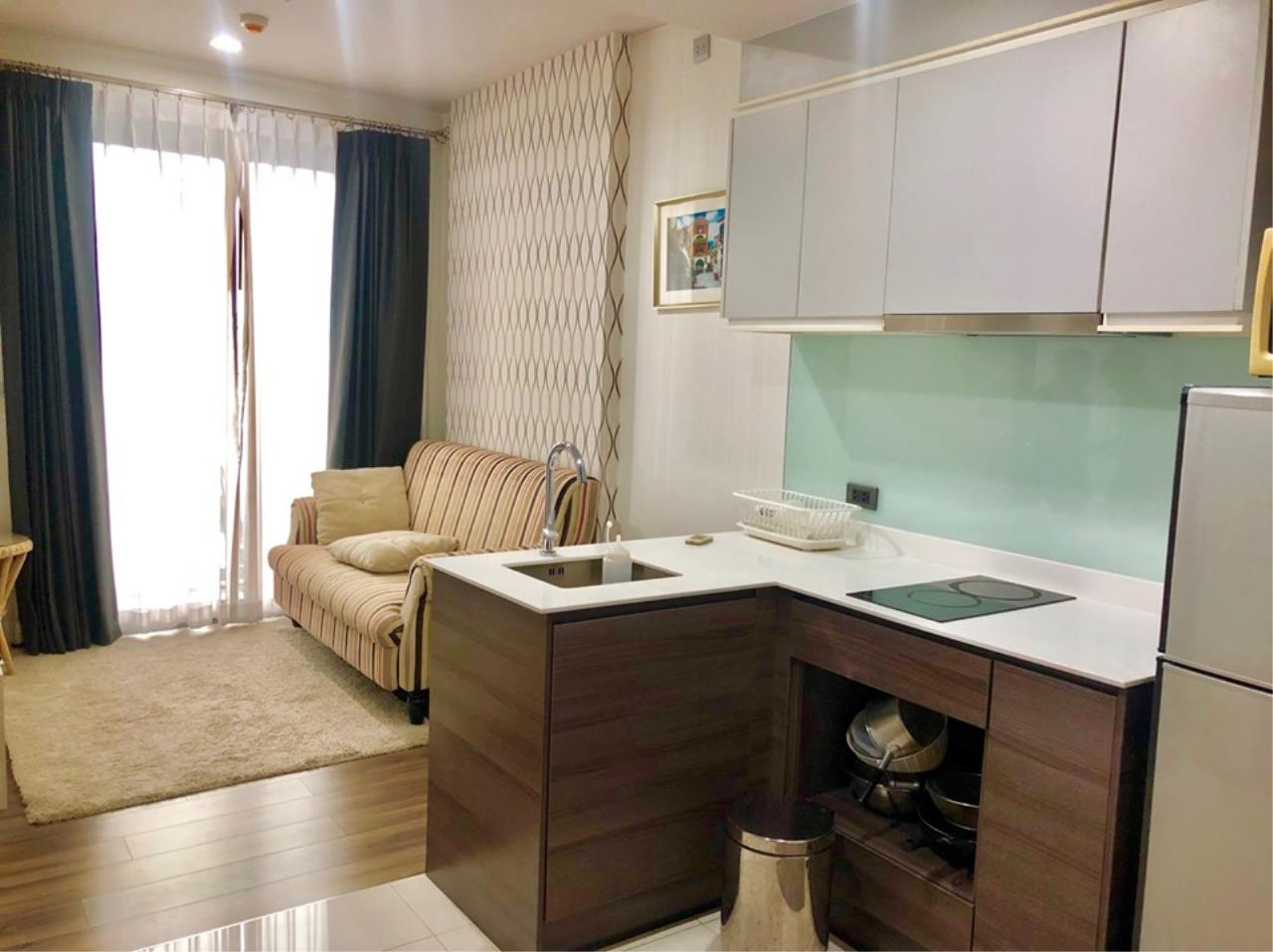 Agent - Prombood Agency's Sale with tenant - 1 Bedroom 35 sq.m. Ceil by Sansiri near Ekkamai BTS Station 16