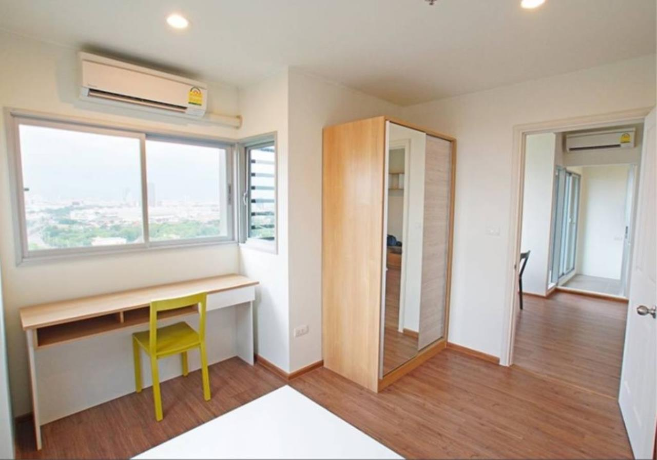 Agent - Prombood Agency's Sale - 2 Bedrooms (Corner Unit) 52 sq.m. U Delight @ Huamak Station near Huamak Airport Link Station  3