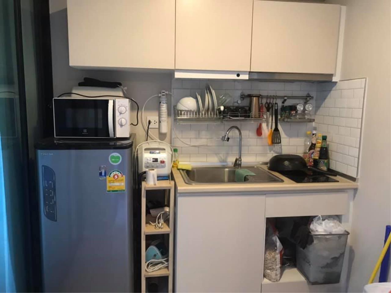 Agent - Prombood Agency's Sale - 2 Bedrooms 34 sq.m. Pause Sukhumvit 103 near Udomsuk BTS Station 6