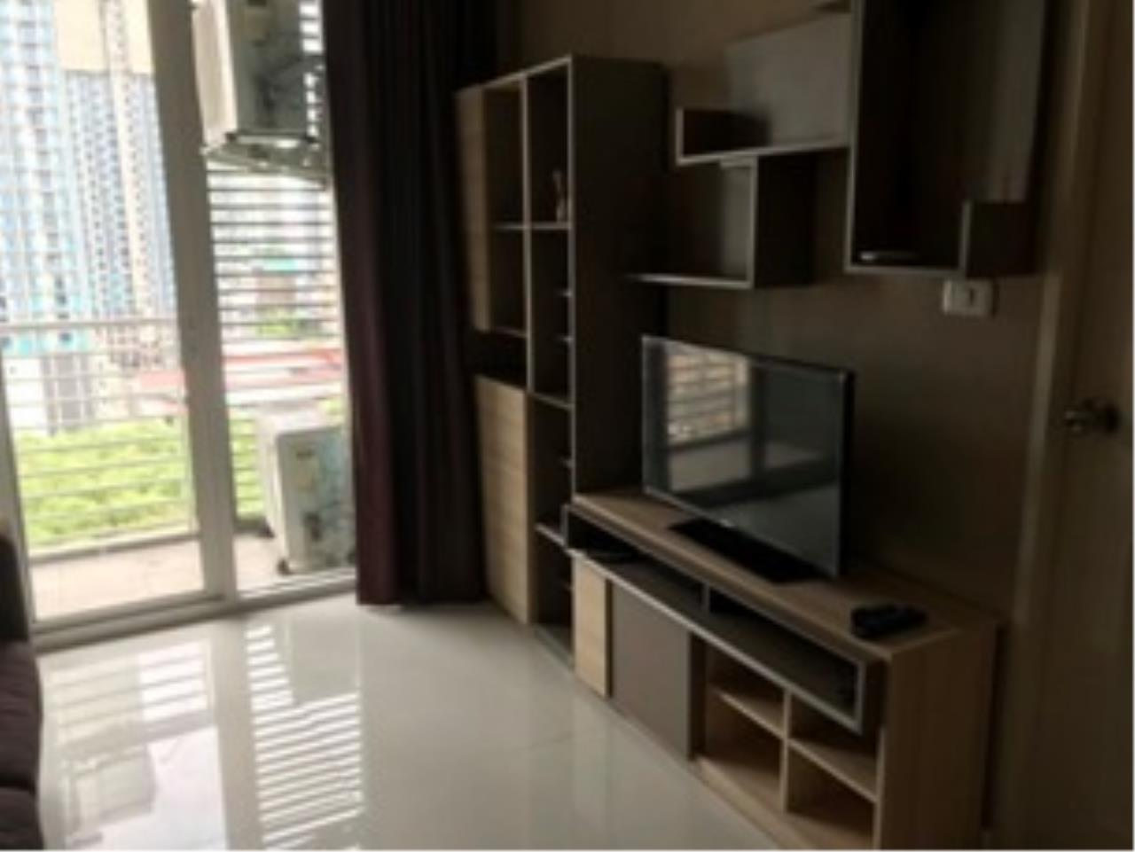 Agent - Prombood Agency's Sale - 1 Bedroom 40 sq.m. The Mark Ratchada-Airport Link near Phra Ram 9 MRT Station and Makkasan Airport Link 9