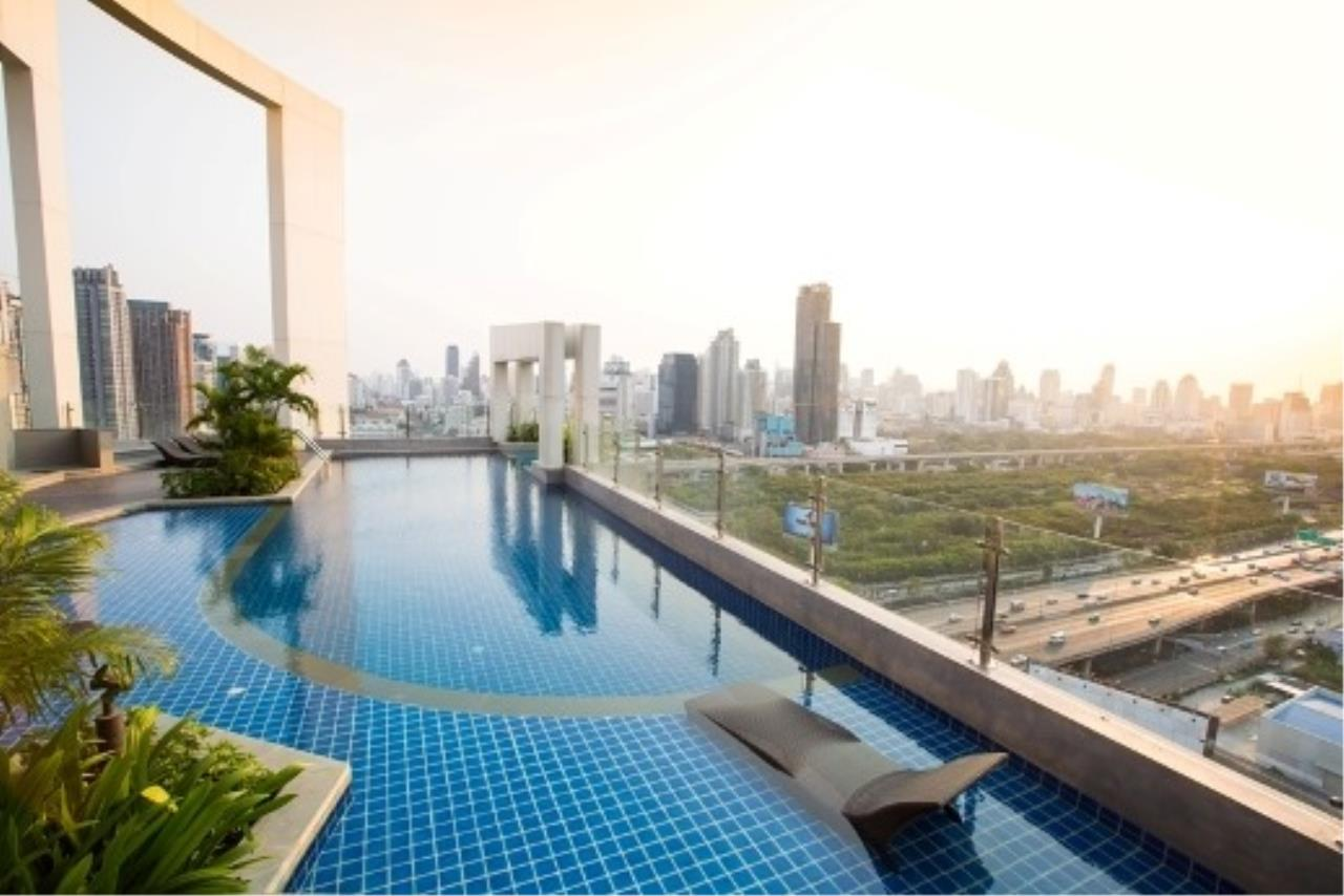 Agent - Prombood Agency's Sale - 1 Bedroom 40 sq.m. The Mark Ratchada-Airport Link near Phra Ram 9 MRT Station and Makkasan Airport Link 18
