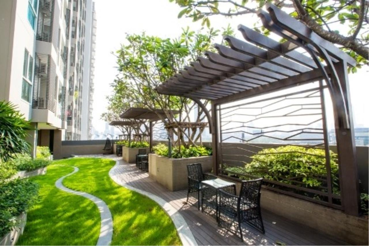 Agent - Prombood Agency's Sale - 1 Bedroom 40 sq.m. The Mark Ratchada-Airport Link near Phra Ram 9 MRT Station and Makkasan Airport Link 19