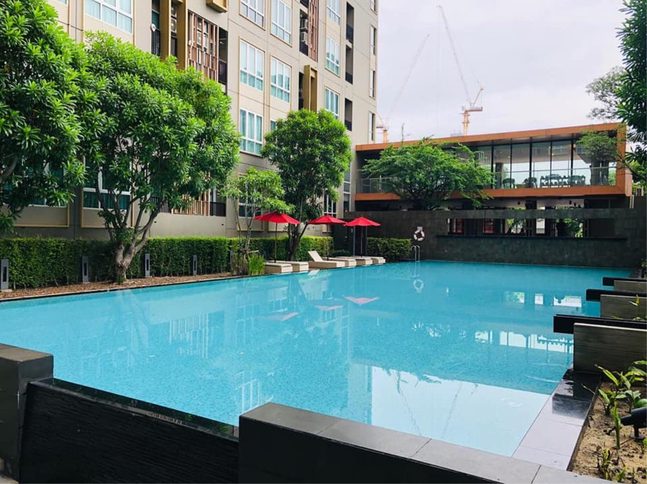 Agent - Prombood Agency's Sale - For Rent 1 Bedroom (Corner Unit) 31.95 sq.m. The Key Sathorn-Ratchapruek near Wutthakat BTS Station 13