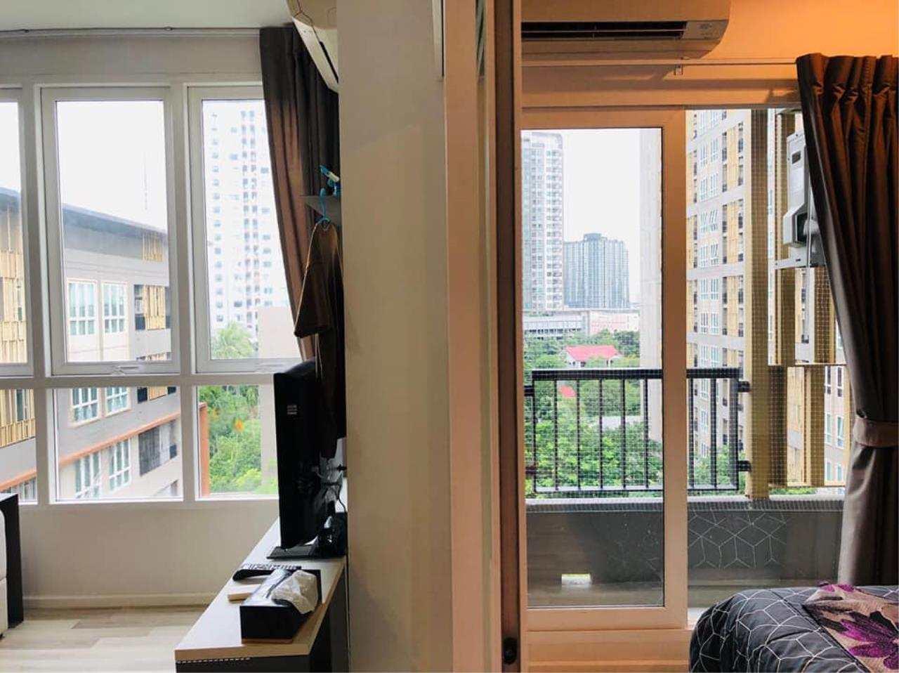 Agent - Prombood Agency's Sale - For Rent 1 Bedroom (Corner Unit) 31.95 sq.m. The Key Sathorn-Ratchapruek near Wutthakat BTS Station 5