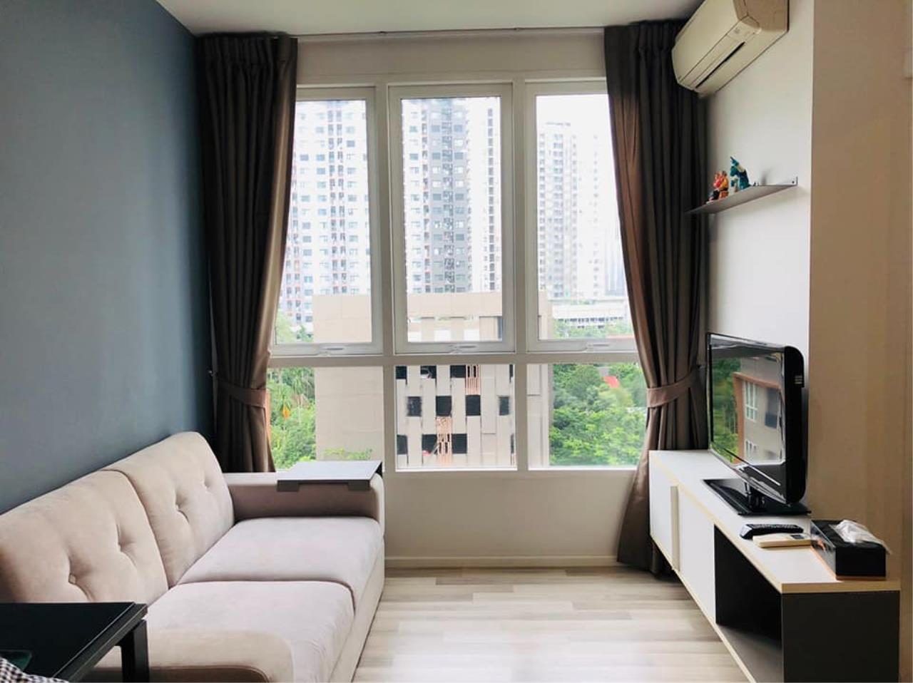 Agent - Prombood Agency's Sale - For Rent 1 Bedroom (Corner Unit) 31.95 sq.m. The Key Sathorn-Ratchapruek near Wutthakat BTS Station 6