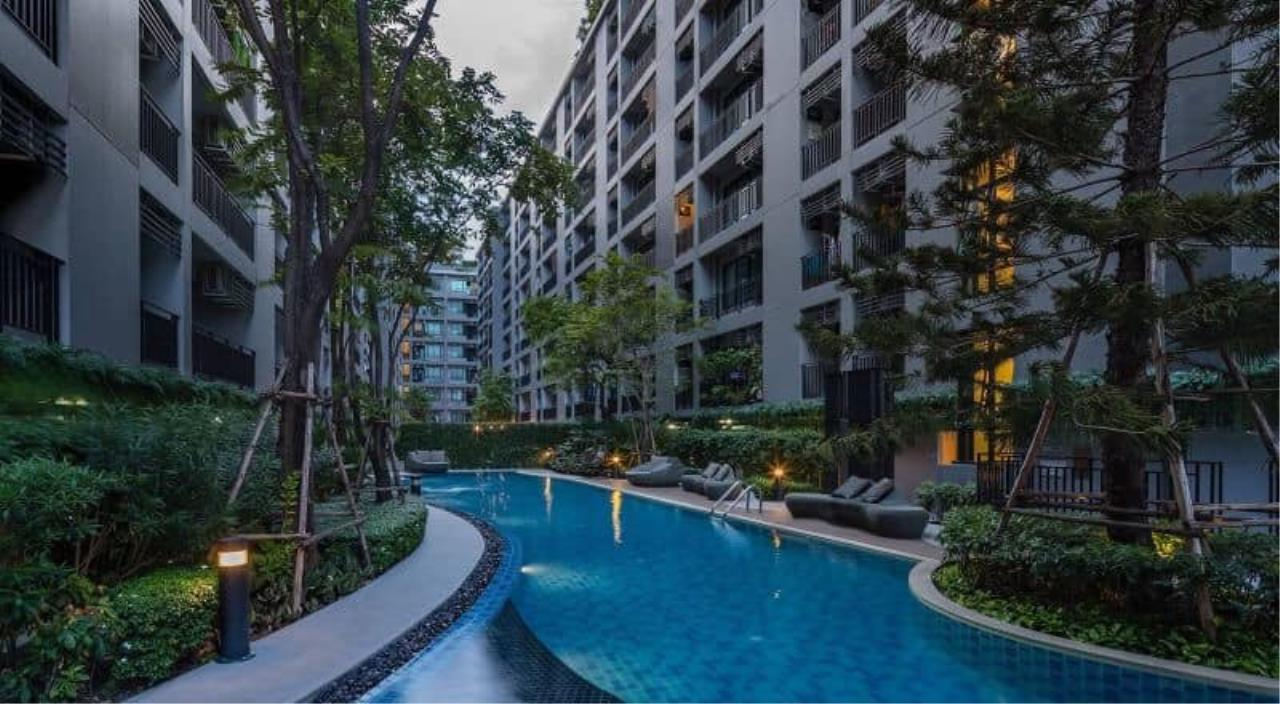 Agent - Prombood Agency's Sale - 1 Bedroom 23 sq.m. The Cabana near Samrong BTS Station 7