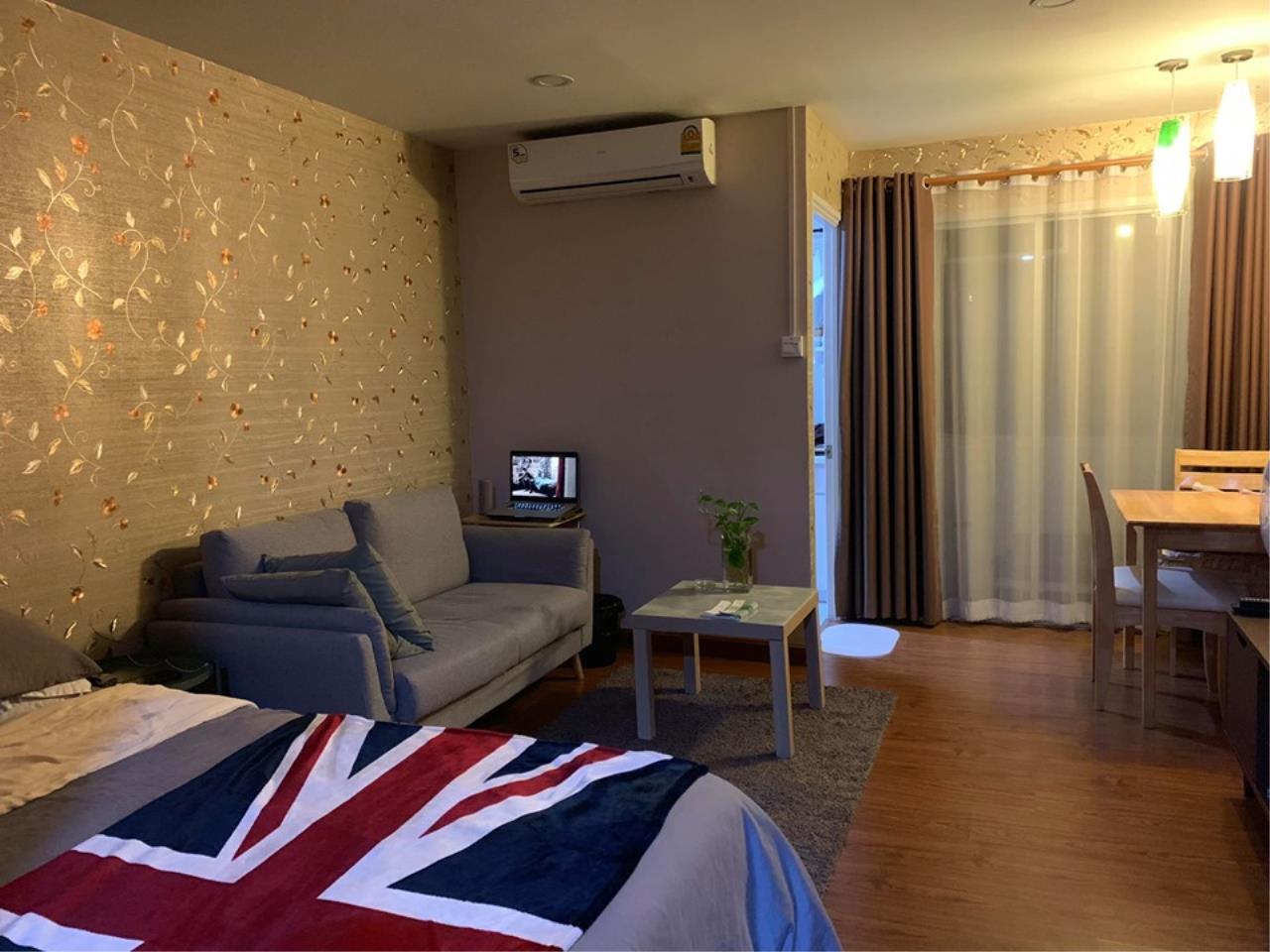 Agent - Prombood Agency's Sale - Studio room 31 sq.m. B Condo near Bangna BTS Station 3